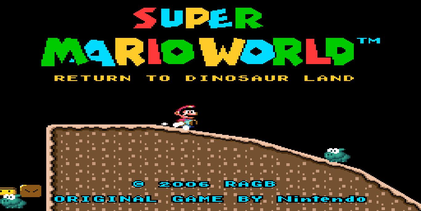 Download super mario world hacks